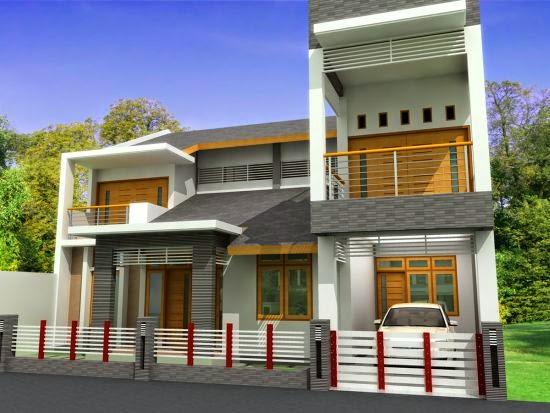 model desain tiang atap teras rumah minimalis sederhana