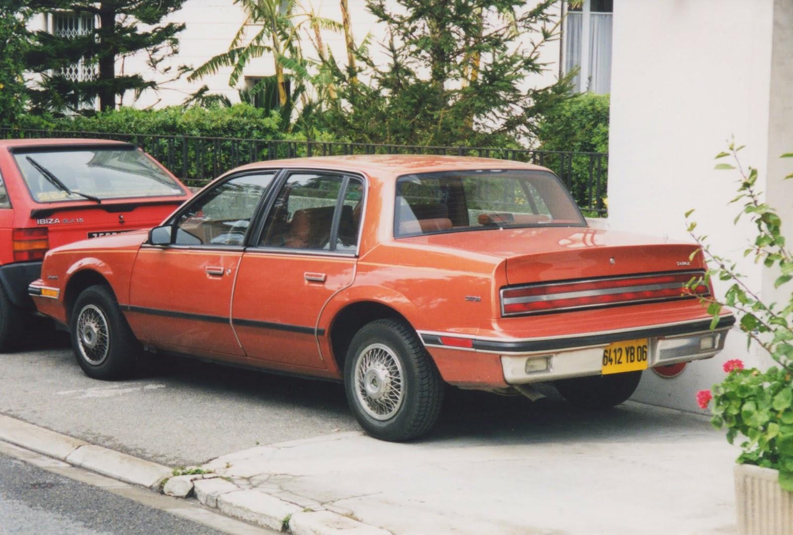 1986 buick skylark sedan nice france