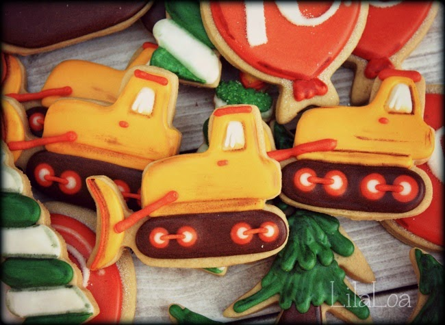 How to make Bulldozer Cookies