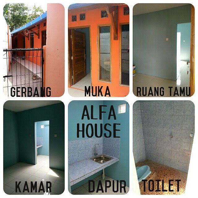 "Kontrakan Petakan ""Alfa House"", Dekat Telkom University Bandung"