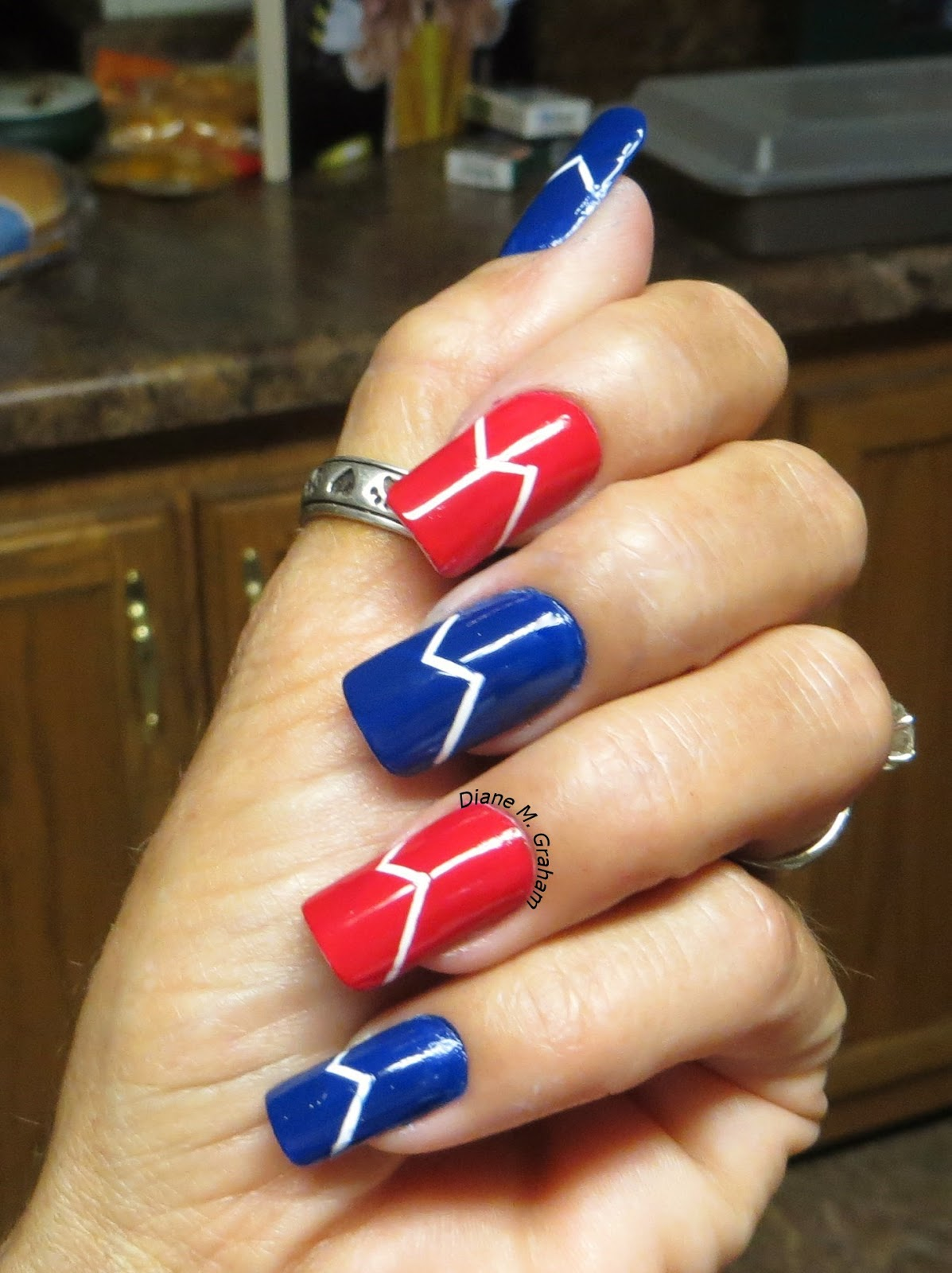 Custom nail solutions pretty patriotic 4th of july nail designs festive fireworks no fourth of july is complete without celebratory fireworks this independence day decorate your nails with festive fireworks to prinsesfo Gallery