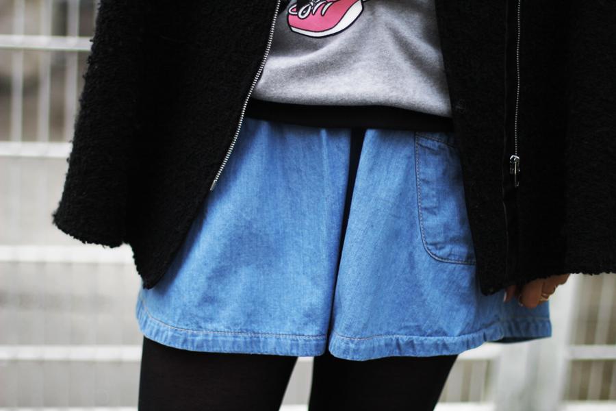 jeans rock h&m trend