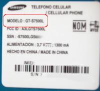model gt-s7500l