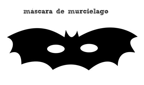 Manualidades: Cómo hacer un máscara de murciélago