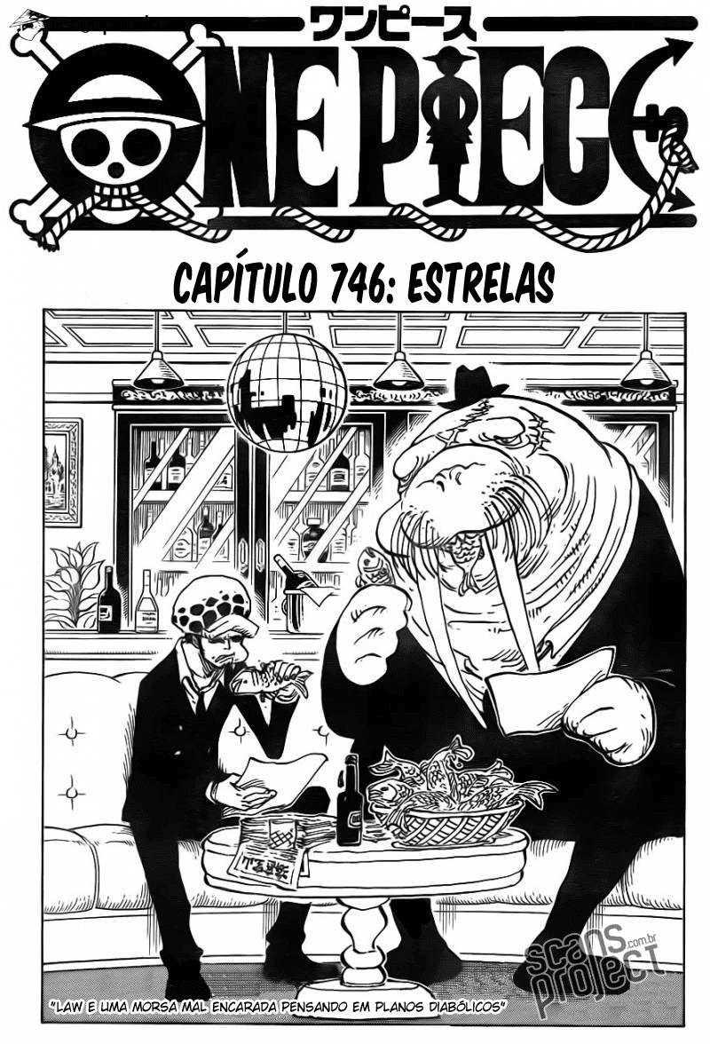 One Piece 746 Português Mangá leitura online