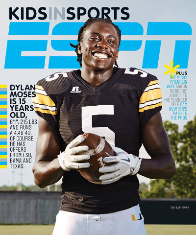 ESPN Soccer Magazine Cover