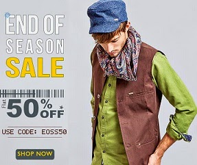 Basicslife: Flat 50% Off on Men's T-Shirts | Shirts | Trousers | Jeans & more