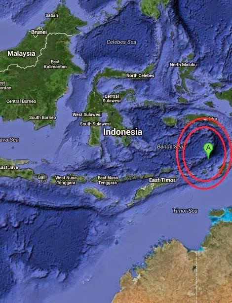 Magnitude 4.8 Earthquake of Saumlaki, Indonesia 2014-09-24