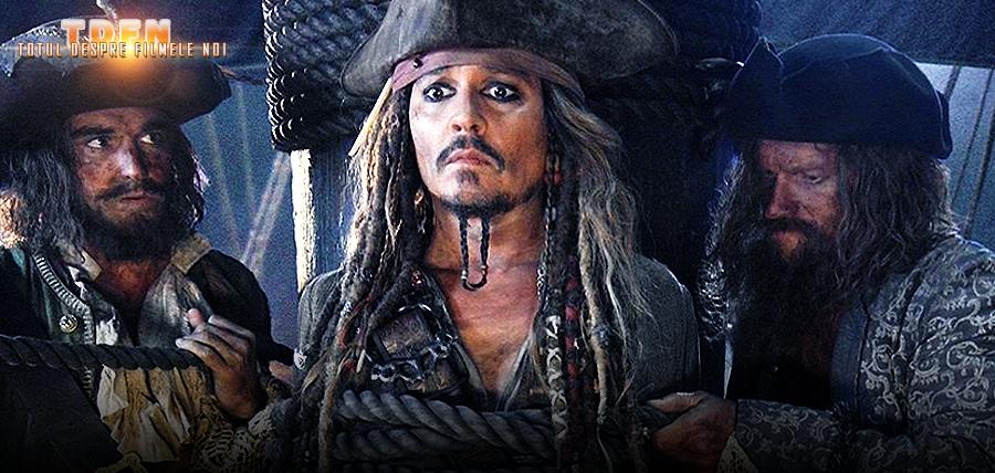În prima imagine din Pirates Of The Caribbean: Dead Man Tell No Tales îl putem vedea pe Căpitanul Jack Sparrow