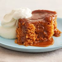 Crock Pot Dessert:  Butterscotch Pudding Cake!