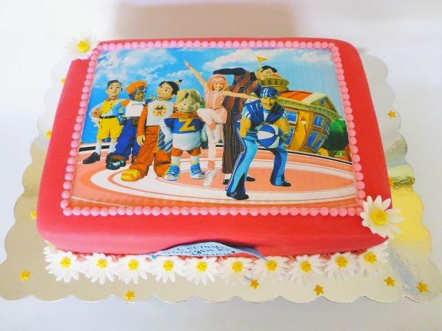 CakeSophia Lazy town cake