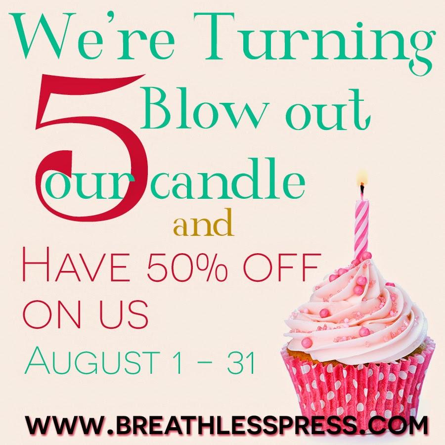 Happy Birthday Breathless Press