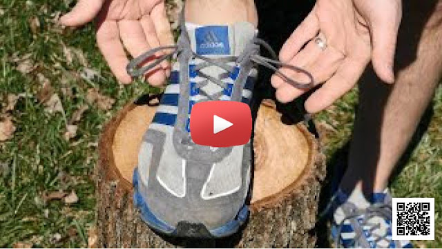 Shoe-tying and shoelaces