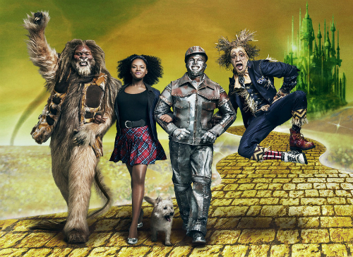 "The cast of NBC's ""The Wiz Live"""