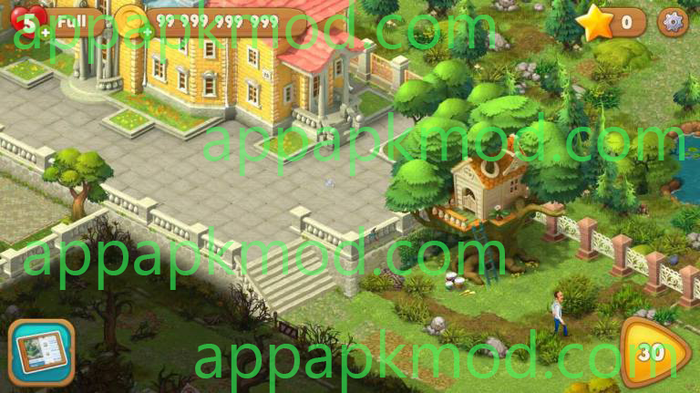 Gardenscape: New Acres Unlimited Coins Mod