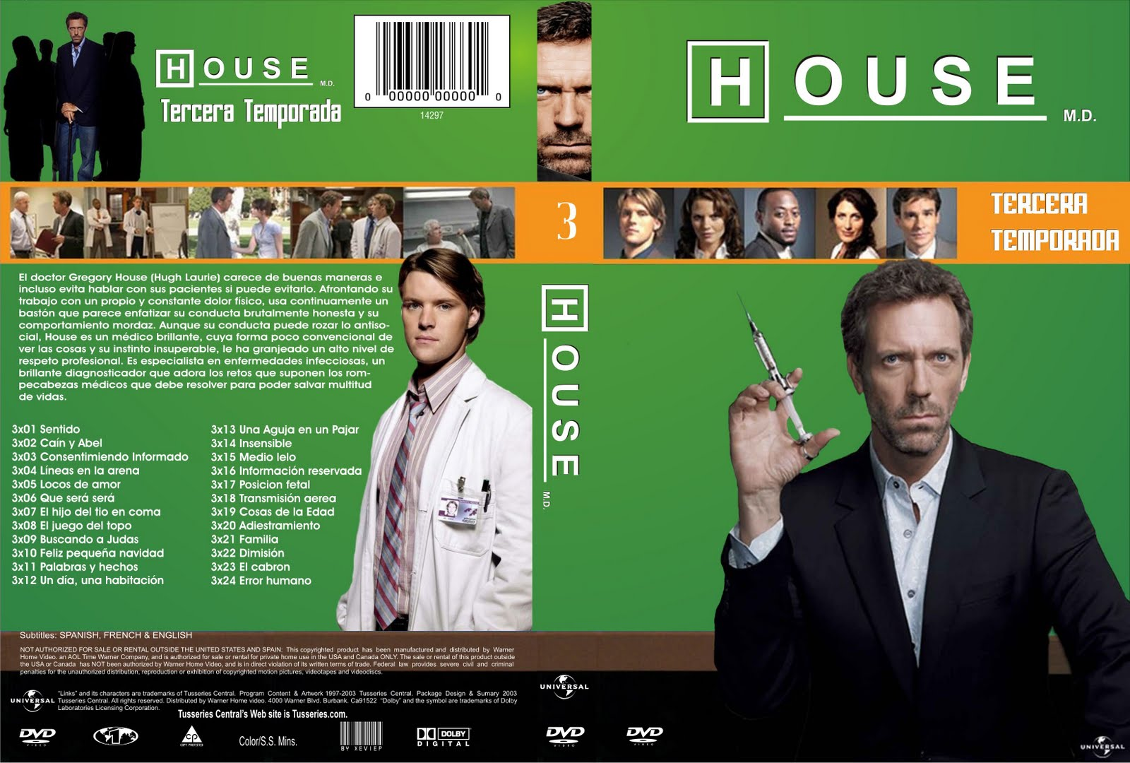 descargar dr house temporada 8 audio latino
