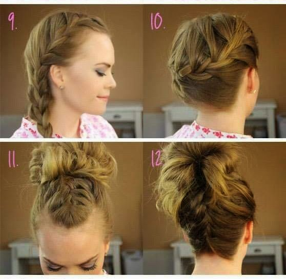 Hair Style Tutorial Step By Step.