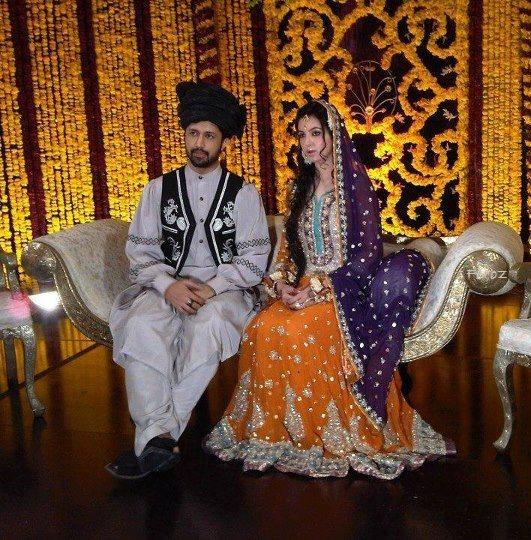 Atif Aslam Wedding Images