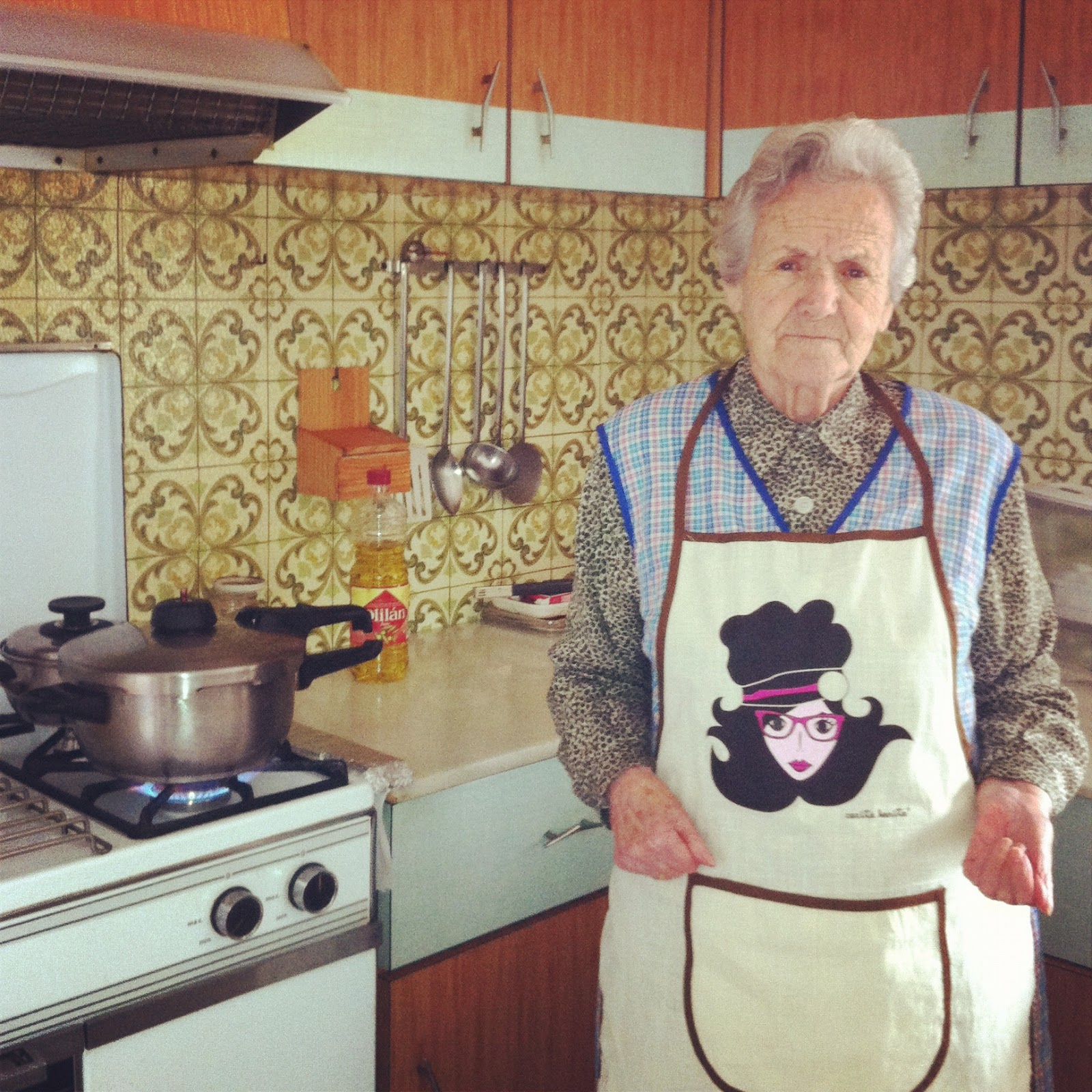 El blog de carita bonita la cocina de mi abuela isabel for La cocina en casa