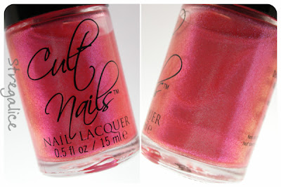 Cult Nails Charlatan bottle duochrome
