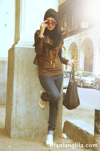 Hijab Style Inspiration , Dian Pelangi HC | Tifani Anglila