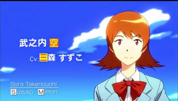 Sora Takenouchi - Digimon Adventure Tri