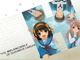 wallpapers  Suzumiya Haruhi no Yutsu