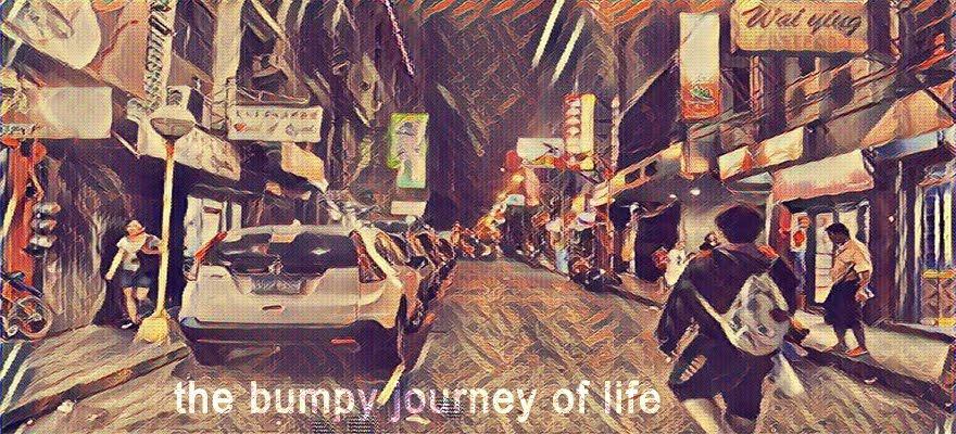 the bumpy journey of life