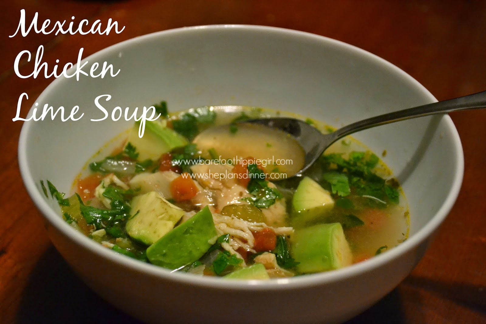 Barefoot Hippie Girl: Mexican Chicken Lime Soup