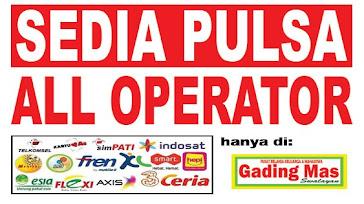 pulsa all operator Gading Mas