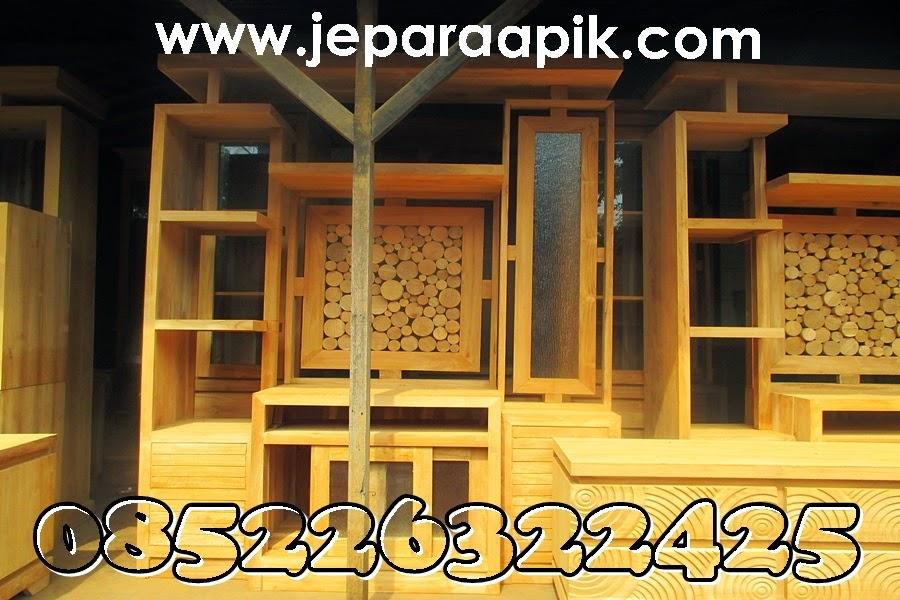 cabinet teak wood