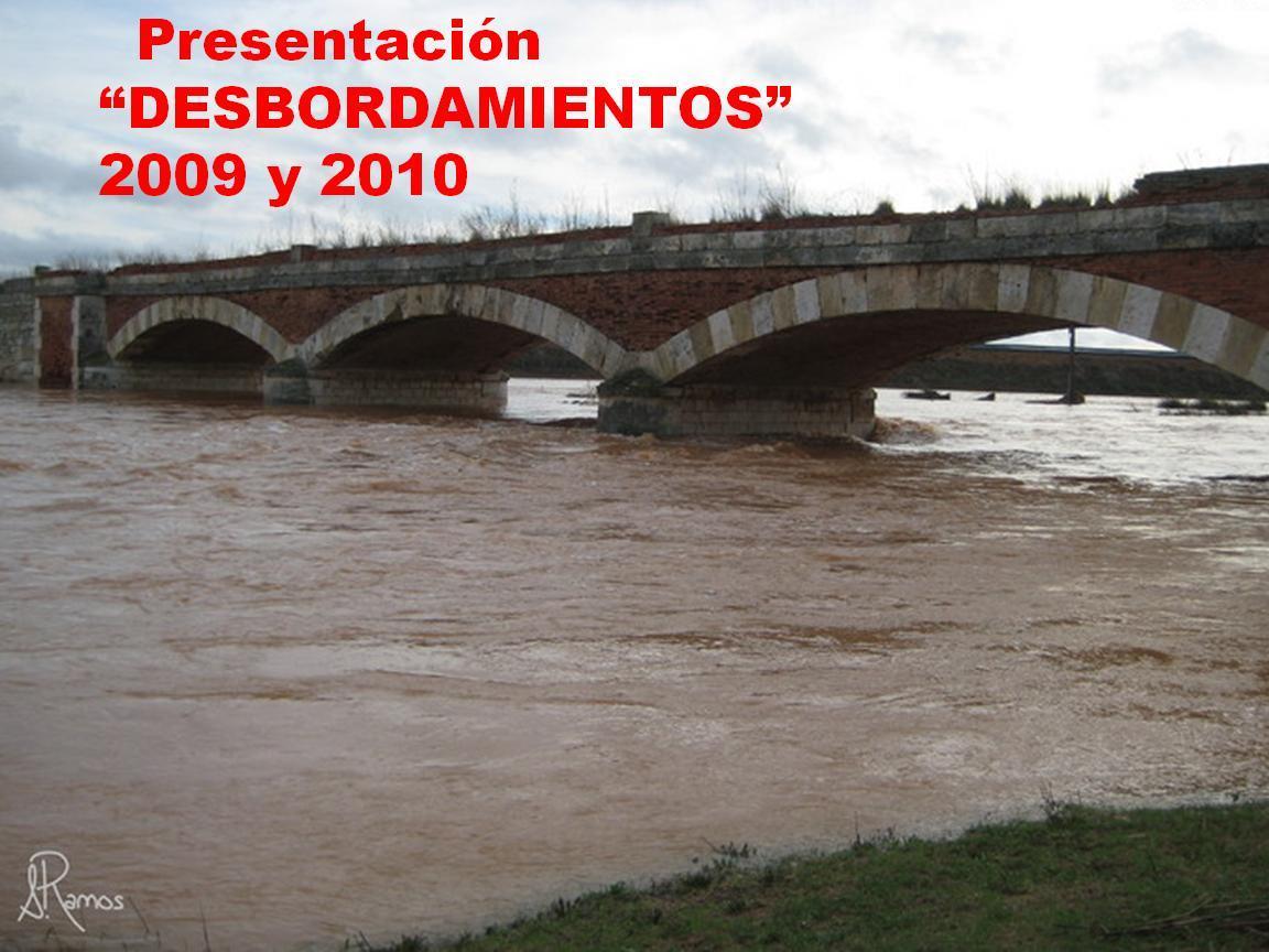 DESBORDAMIENTOS Y RÍOS DICIEMBRE 09 - ENERO 10