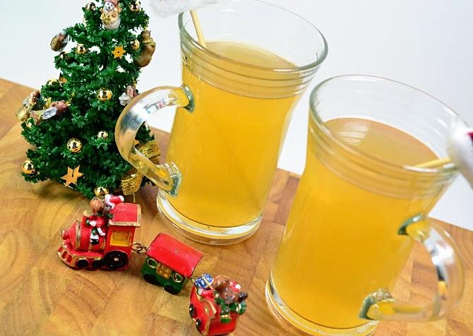 Rezept - heißer Apfel-Birnen Punsch