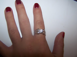 Last months winner's diamond ring, New Diamond Candle Giveaway OR $25 paypal cash