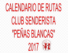 CALENDARIO RUTAS 2017