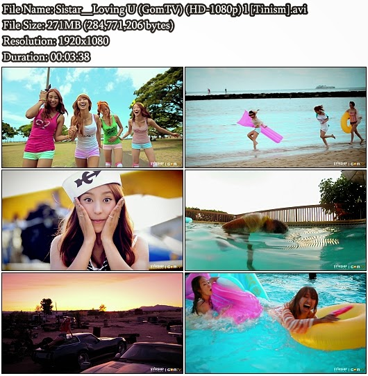 Download MV Sistar (씨스타) - Loving U (GomTV Full HD 1080p)