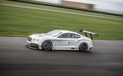 Bentley GT3 Race Car on Bentley Continental Race Car