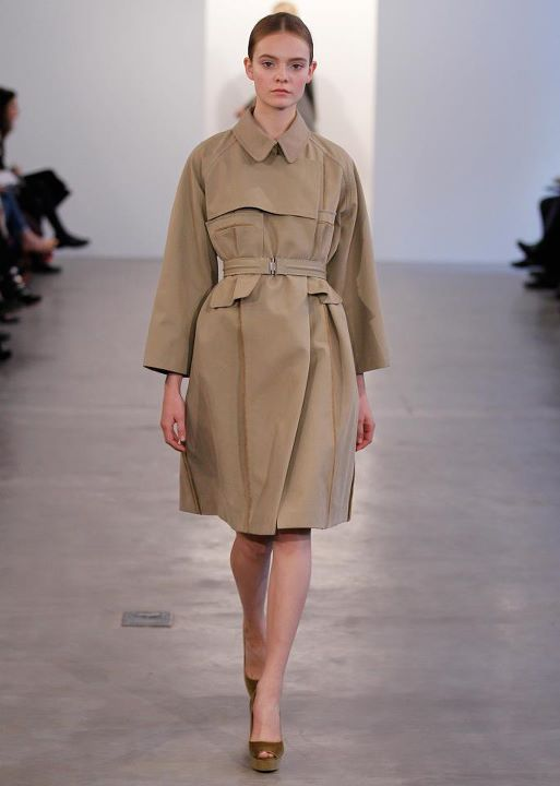 khaki ,double ,breasted brindle wool coat