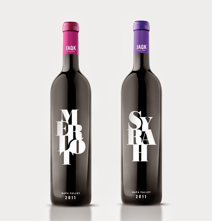 testo grande naming bottiglia grafica design merlot sirah ricerca nome vino packaging