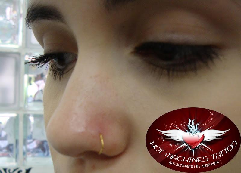 Piercing nariz-Argolinha title=