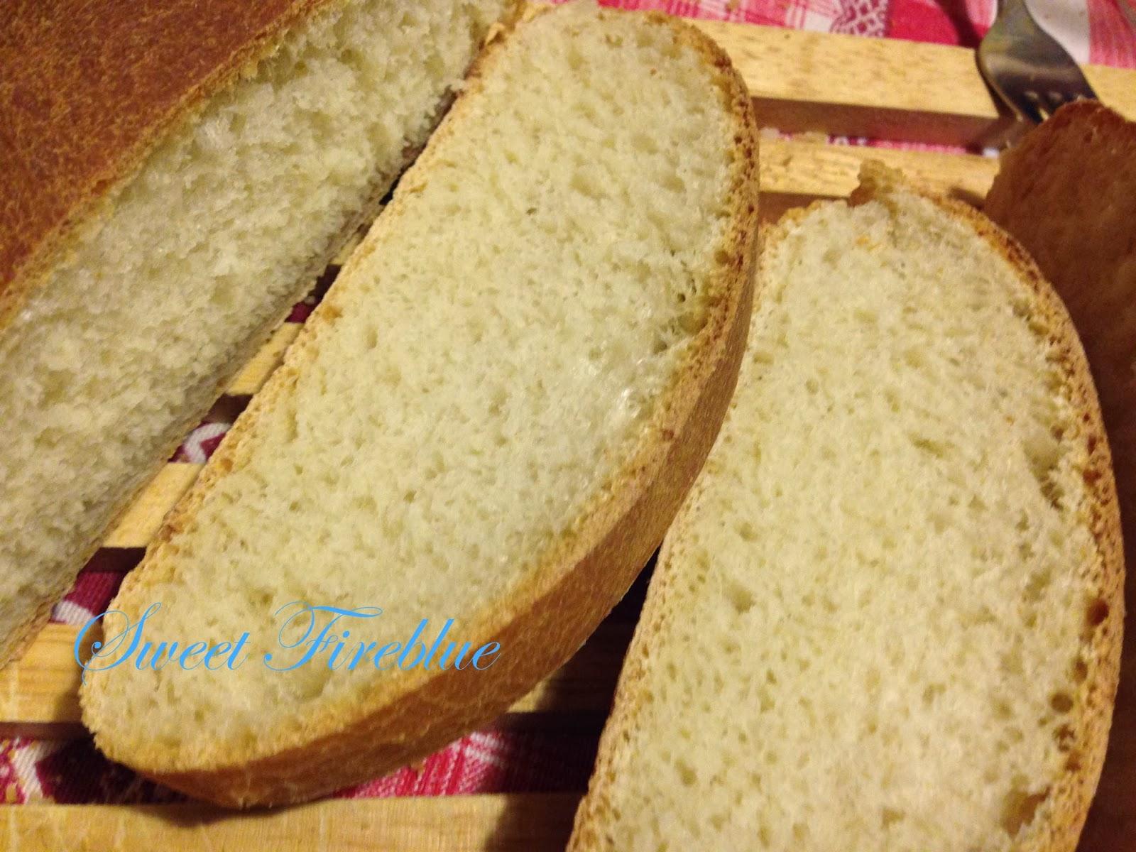 pane semplice e veloce con rinfresco di lievito madre