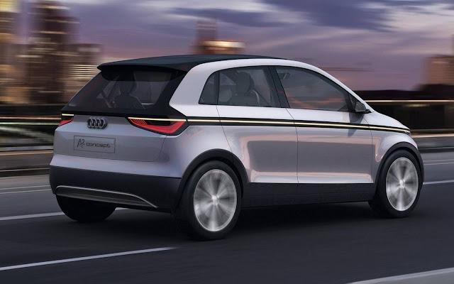 Audi A0 - Volkswagen up!