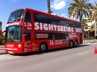 Sightseeing Bus en Calpe