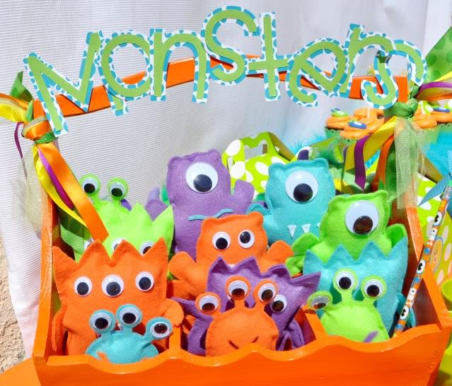 Little Monster Party Printables