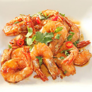 Chinese Teriaki Prawns (Shrimp)