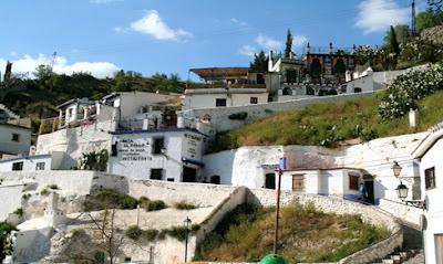 Barrio del Sacromonte - Granada - que visitar