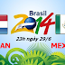 Soi kèo cá dộ World Cup 2014 : Hà Lan vs Mexico 23h00 29/06