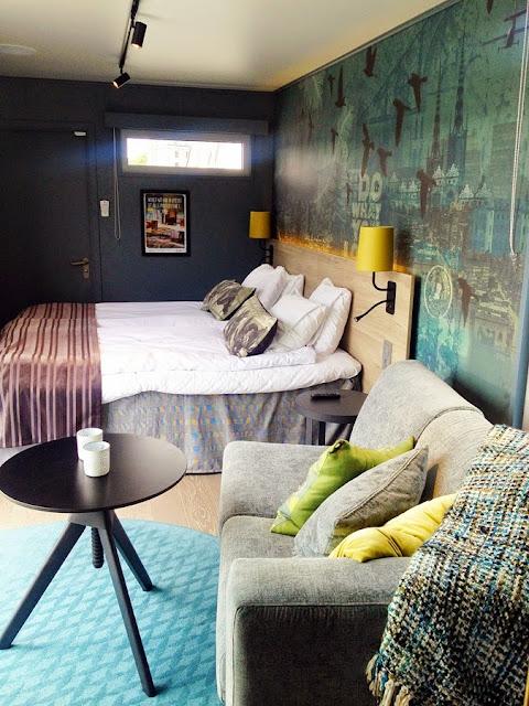 Hotellrom i en container   overnatting hos scandic to go   norske ...
