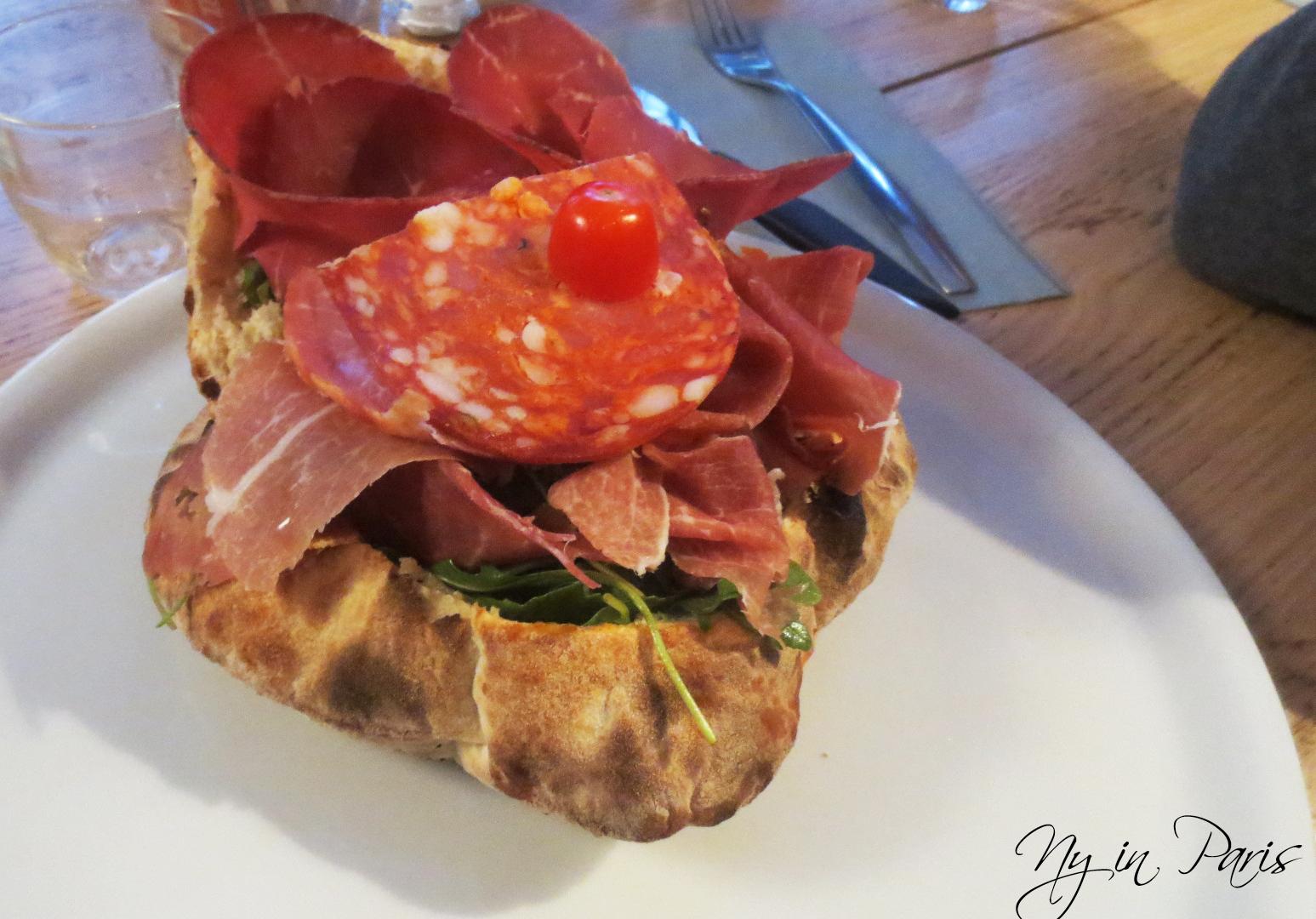 La pizza marseillaise d barque bonne nouvelle ny in - Veritable pate a pizza ...