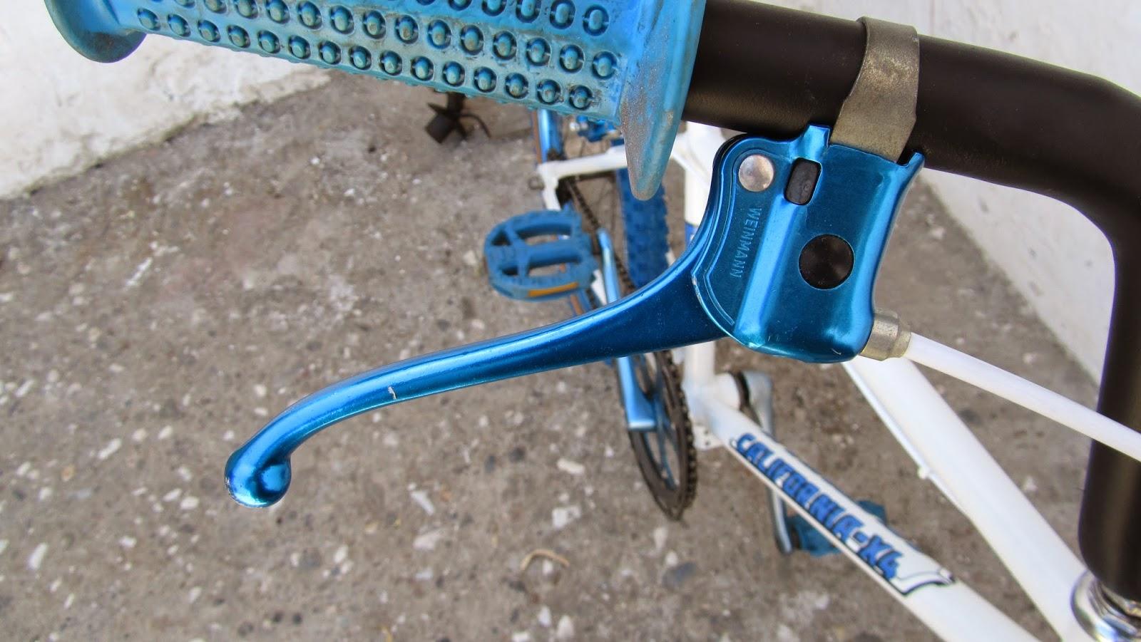 maneta de freno weinnman azul
